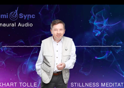 Deepening Into the Dimension of Stillness with Eckhart Tolle