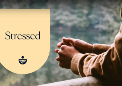 Stressed: A Quick Fix Meditation