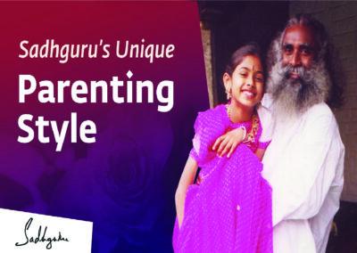 How Sadhguru Nurtured his Daughter Radhe