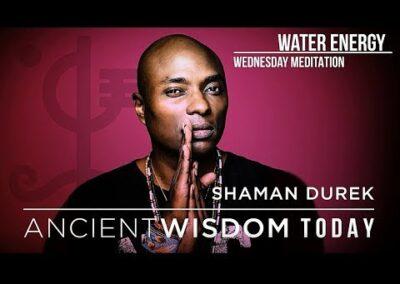 Water Energy Meditation with Shaman Durek
